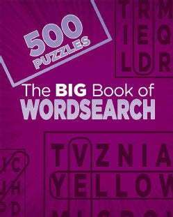 The Big Book of Wordsearch: 500 Puzzles (Paperback)