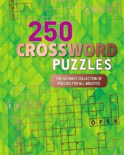 250 Crossword Puzzles (Paperback)