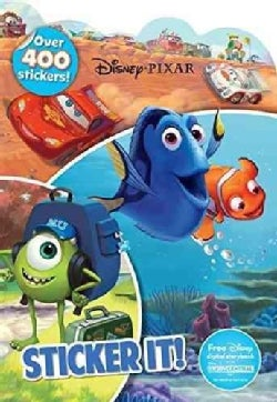 Disney Pixar Sticker It! (Paperback)