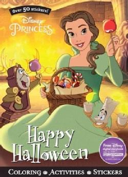 Disney Princess Happy Halloween (Paperback)