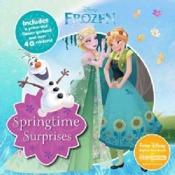 Springtime Surprises: Includes a Press-Out Flower Headband and over 40 Stickers! (Paperback)