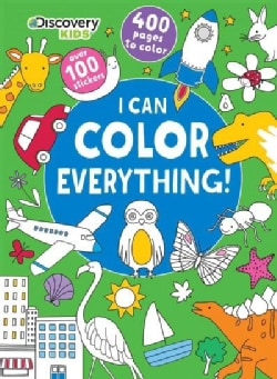 I Can Color Everything! (Paperback)