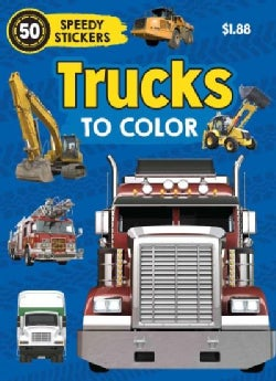 Trucks to Color (Paperback)