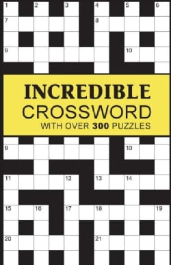 Incredible Crossword: With Over 300 Puzzles (Paperback)