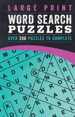 Word Search Puzzles: Over 200 Puzzles to Complete (Paperback)