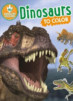 Dinosaurs to Color (Paperback)