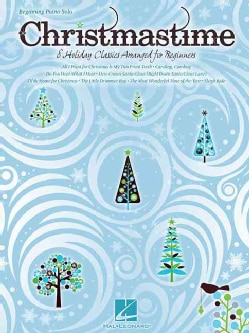 Christmastime: Beginning Piano Solo: 8 Holiday Classics Arranged for Beginners (Paperback)