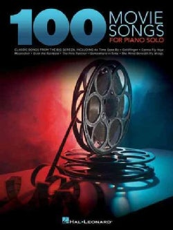 100 Movie Songs for Piano Solo (Paperback)