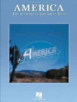 America The Complete Greatest Hits: Piano / Vocal / Guitar (Paperback)
