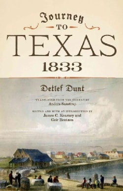 Journey to Texas, 1833 (Paperback)
