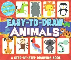 Easy-to-Draw Animals: A Step-by-Step Drawing Book (Paperback)