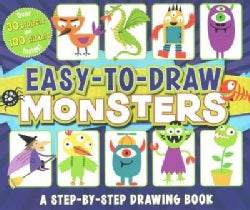 Easy-to-Draw Monsters: A Step-by-Step Drawing Book (Paperback)
