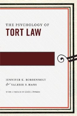 The Psychology of Tort Law (Paperback)