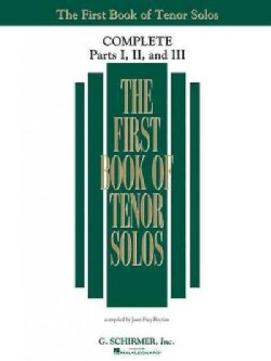 The First Book of Solos Complete - Parts I, II, and III: Tenor (Paperback)