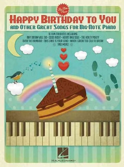 Happy Birthday to You and Other Great Songs for Big-note Piano (Paperback)