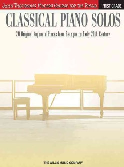 Classical Piano Solos, First Grade (Paperback)