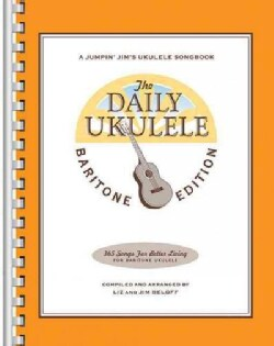 The Daily Ukulele: Baritone Edition (Paperback)