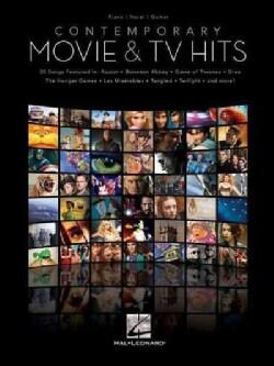 Contemporary Movie & TV Hits: Piano / Vocal / Guitar (Paperback)