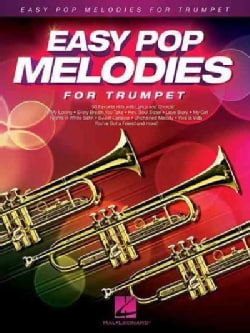 Easy Pop Melodies: For Trumpet (Paperback)