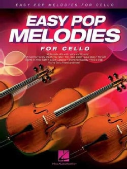Easy Pop Melodies: For Cello (Paperback)