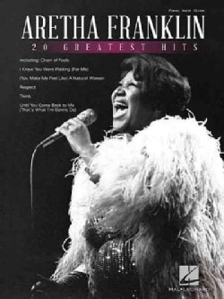 Aretha Franklin: 20 Greatest Hits: Piano / Vocal / Guitar  (Paperback)