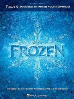 Frozen: Music from the Motion Picture Soundtrack: Big-Note Piano (Paperback)