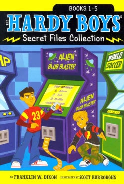 The Hardy Boys Secret Files Collection: Trouble at the Arcade; The Missing Mitt; Mystery Map; Hopping Mad; A Mons... (Paperback)