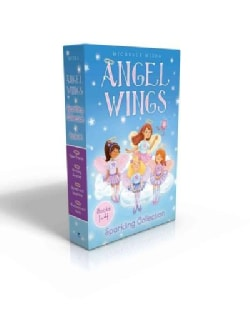 Angel Wings Sparkling Collection: New Friends / Birthday Surprise / Secrets and Sapphires / Rainbows and Halos (Paperback)