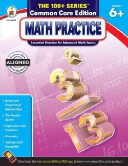Math Practice, Grades 6+: Common Core Edition (Paperback)