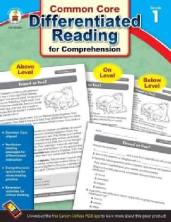 Common Core Differentiated Reading for Comprehension, Grade 1 (Paperback)
