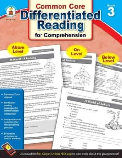Common Core Differentiated Reading for Comprehension, Grade 3 (Paperback)