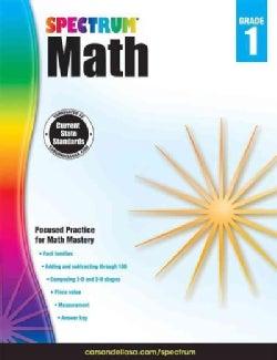 Spectrum Math, Grade 1 (Paperback)