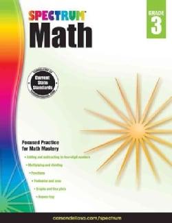 Spectrum Math, Grade 3 (Paperback)