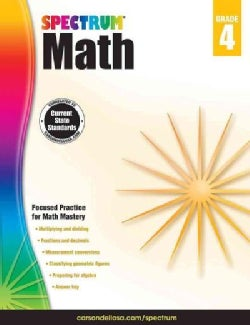 Spectrum Math, Grade 4 (Paperback)