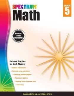 Spectrum Math, Grade 5 (Paperback)