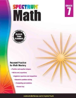 Spectrum Math, Grade 7 (Paperback)