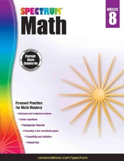 Spectrum Math, Grade 8 (Paperback)