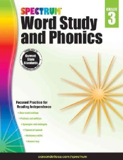 Spectrum Word Study and Phonics, Grade 3 (Paperback)