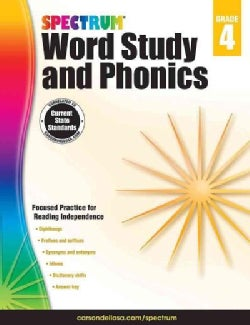 Spectrum Word Study and Phonics, Grade 4 (Paperback)