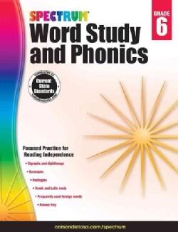Spectrum Word Study and Phonics, Grade 6 (Paperback)