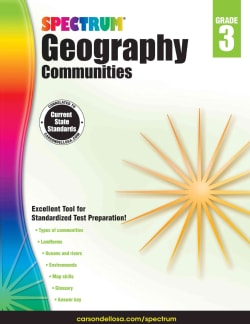 Spectrum Geography, Grade 3: Communities (Paperback)