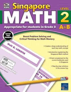 Singapore Math, Grade 3: Level 2 A&b (Paperback)