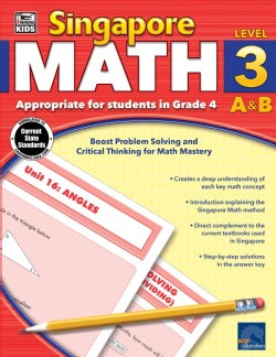 Singapore Math A & B: Level 3 (Paperback)