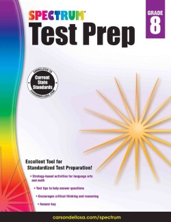 Spectrum Test Prep Grade 8 (Paperback)