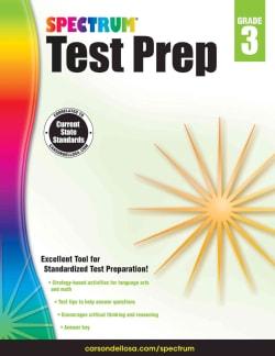 Spectrum Test Prep, Grade 3 (Paperback)