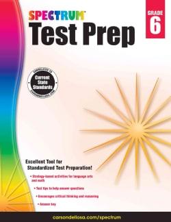 Spectrum Test Prep, Grade 6 (Paperback)