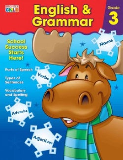 English & Grammar: Nouns, Verb, Adverbs, Adjetives (Paperback)