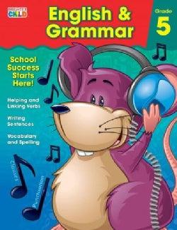 Brighter Child English & Grammar: Grade 5 (Paperback)