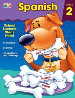 Brighter Child Spanish: Grade 2 (Paperback)