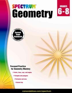 Spectrum Geometry Grades 6-8 (Paperback)
